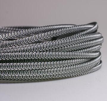 Kostice spirálové 5 mm, 10 m