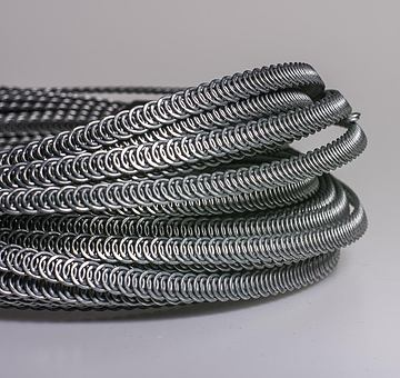 Kostice spirálové 7 mm silné, 10 m