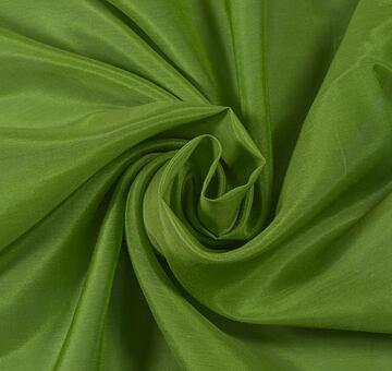 Voál s hedvábím, hráškově zelený