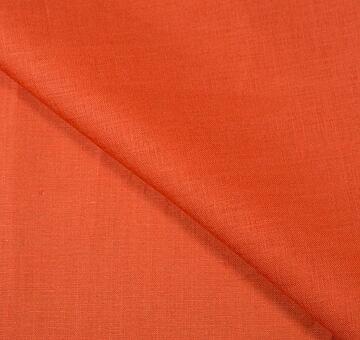 Lněné plátno, oranžové