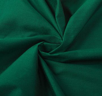 Hedvábí s modalem, lahvově zelené