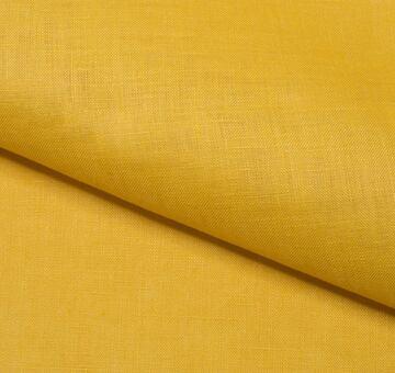 Lněné plátno, lehké, žluté
