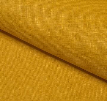 Len s bavlnou, žlutý