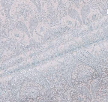 Brokát knížecí, sv. modro-bílý