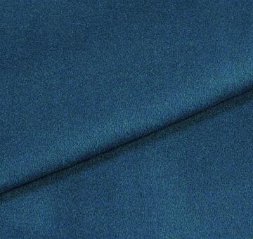 Vlněný flauš s angorou, petrolejově modrý