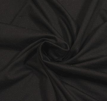 Buretový hedvábný žerzej, černý