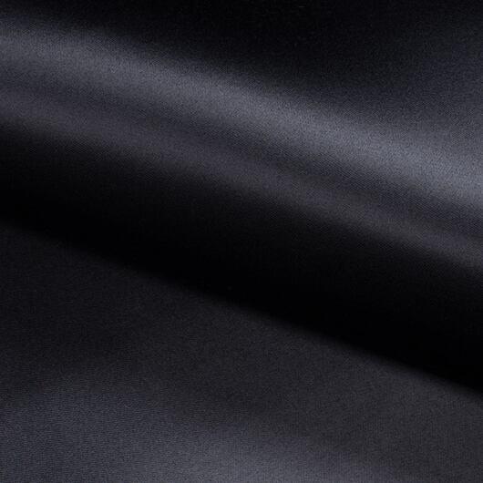 Saténové korzetové plátno, černé