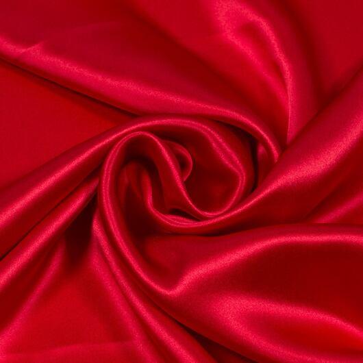 Satén, červený