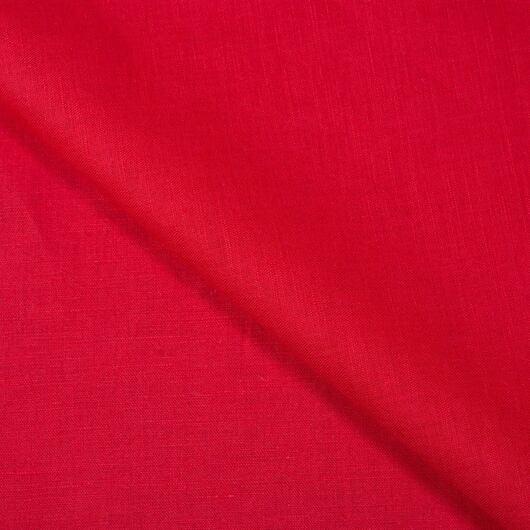 Len, zářivě červený