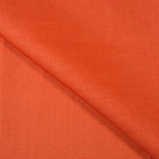Len, oranžový