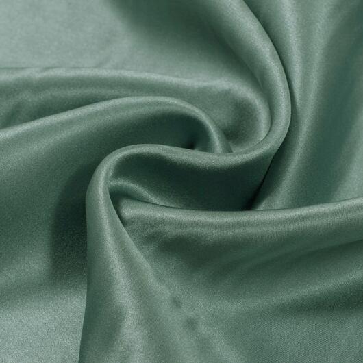 Zelený satén, 100% hedvábí 101 36-0081