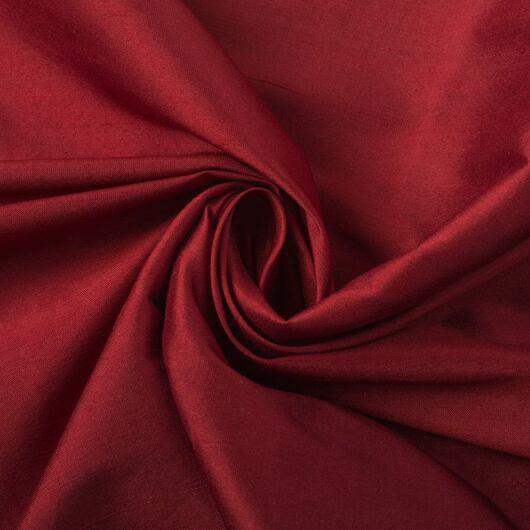 Hedvábný červený šantung 101 34-0084