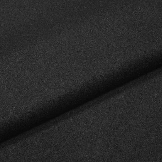 100% vlněný flauš, černý