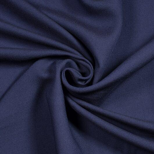 Tencelový krep, tm. modrý