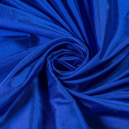 Dupion hladký, královsky modrý