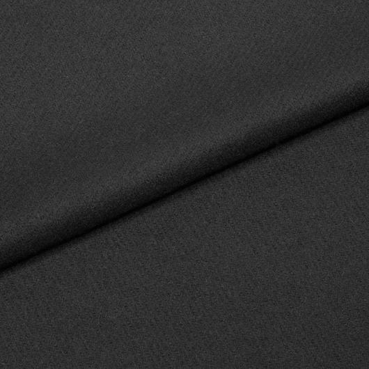 Lehké sukno z merina, kepr, černé