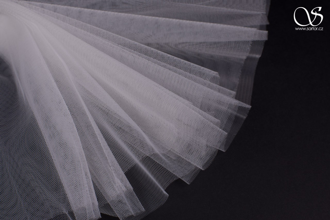 Veil Tulle 300 cm, Light Ivory
