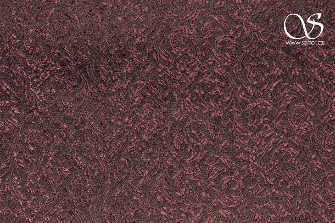 Brocade Ornaments, Brown