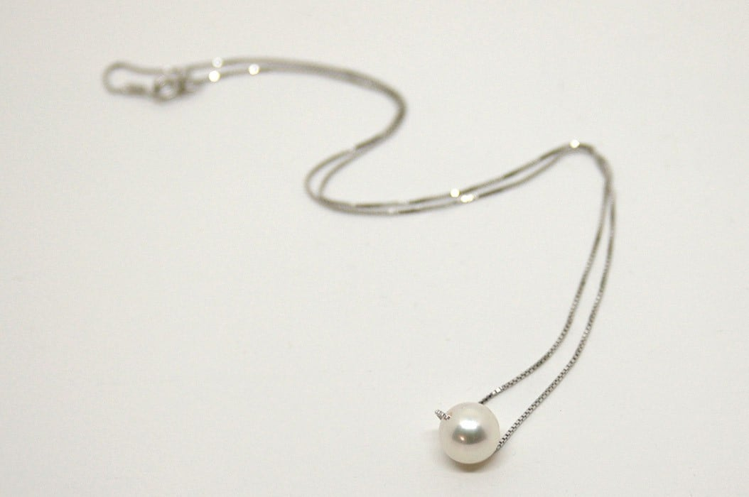 Necklace with Precious Pearl, Long