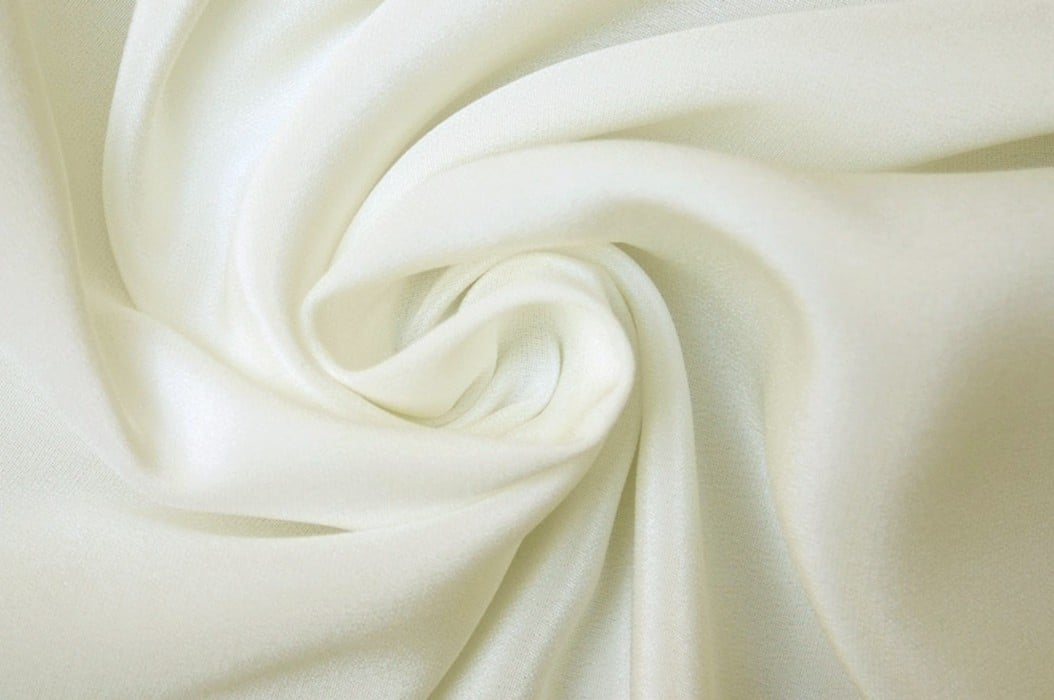 Crepe de Chine, Cream