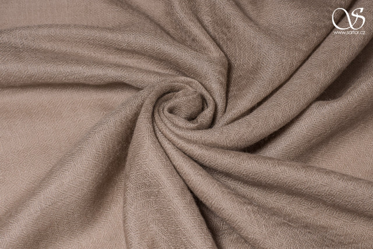 Cashmere Scarf, Taupe