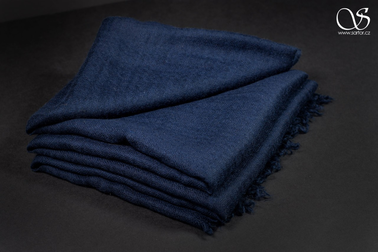 Cashmere Scarf, Paris Blue