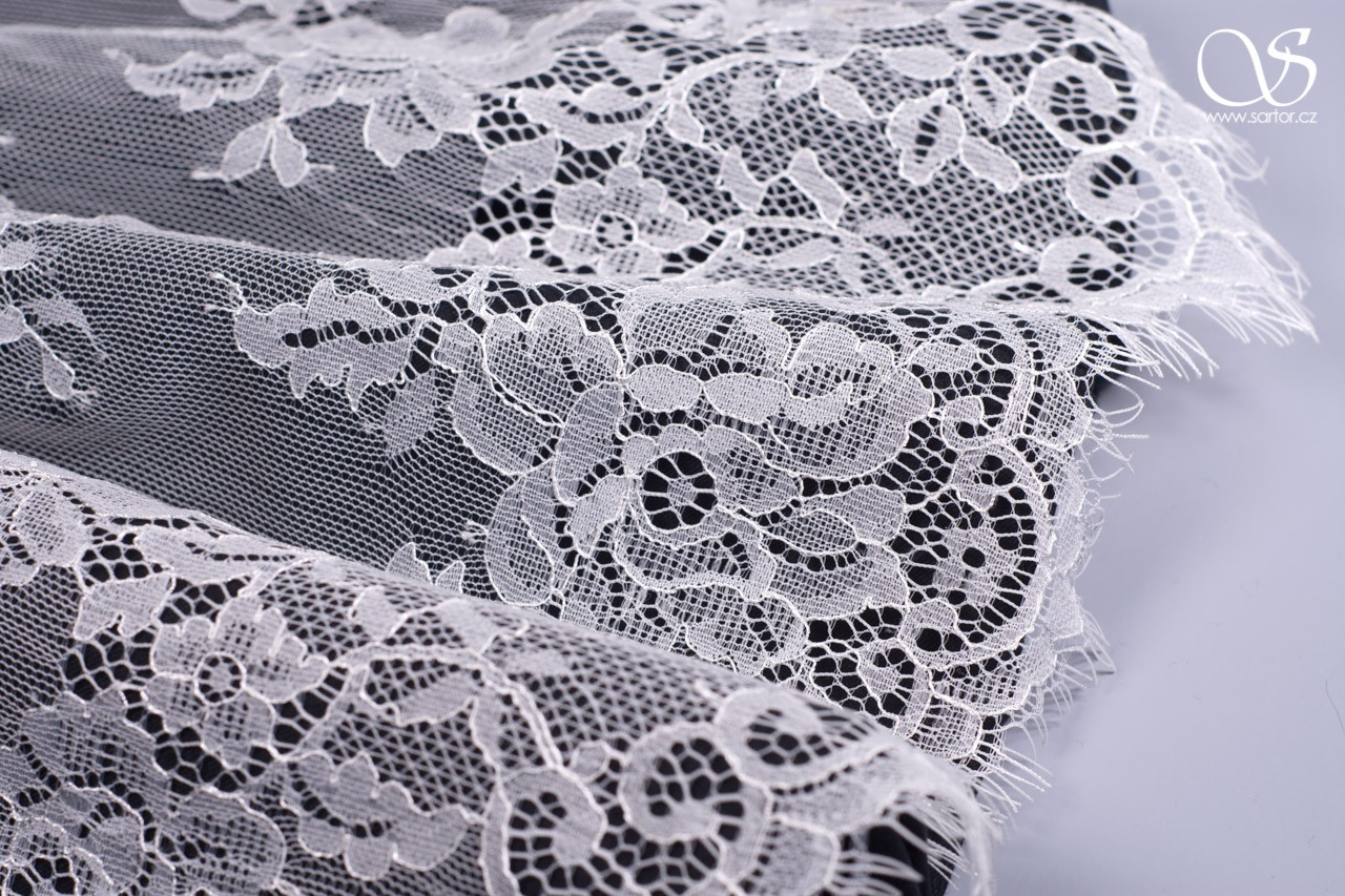 Chantilly Lace Matylda, Ivory