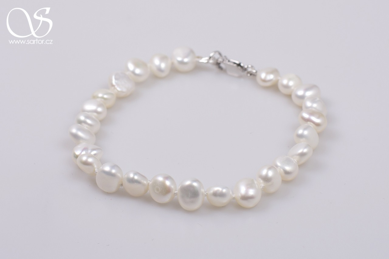 Bracelet, Medium Baroque Pearls