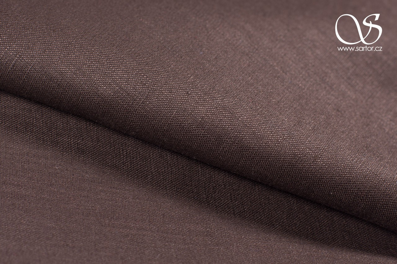Fine Linen, Dark Brown