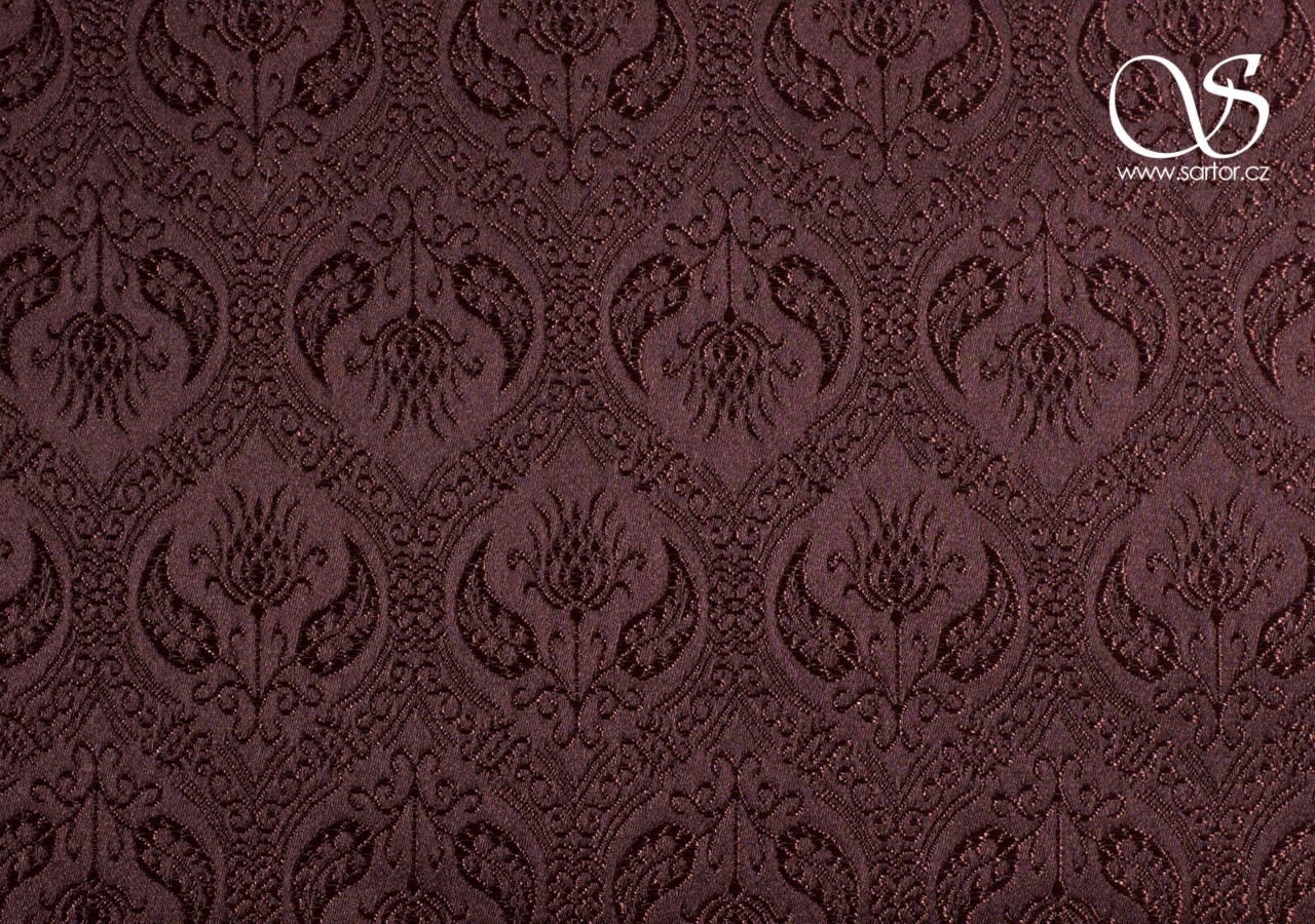 Brocade Spanish Renaissance, Brown
