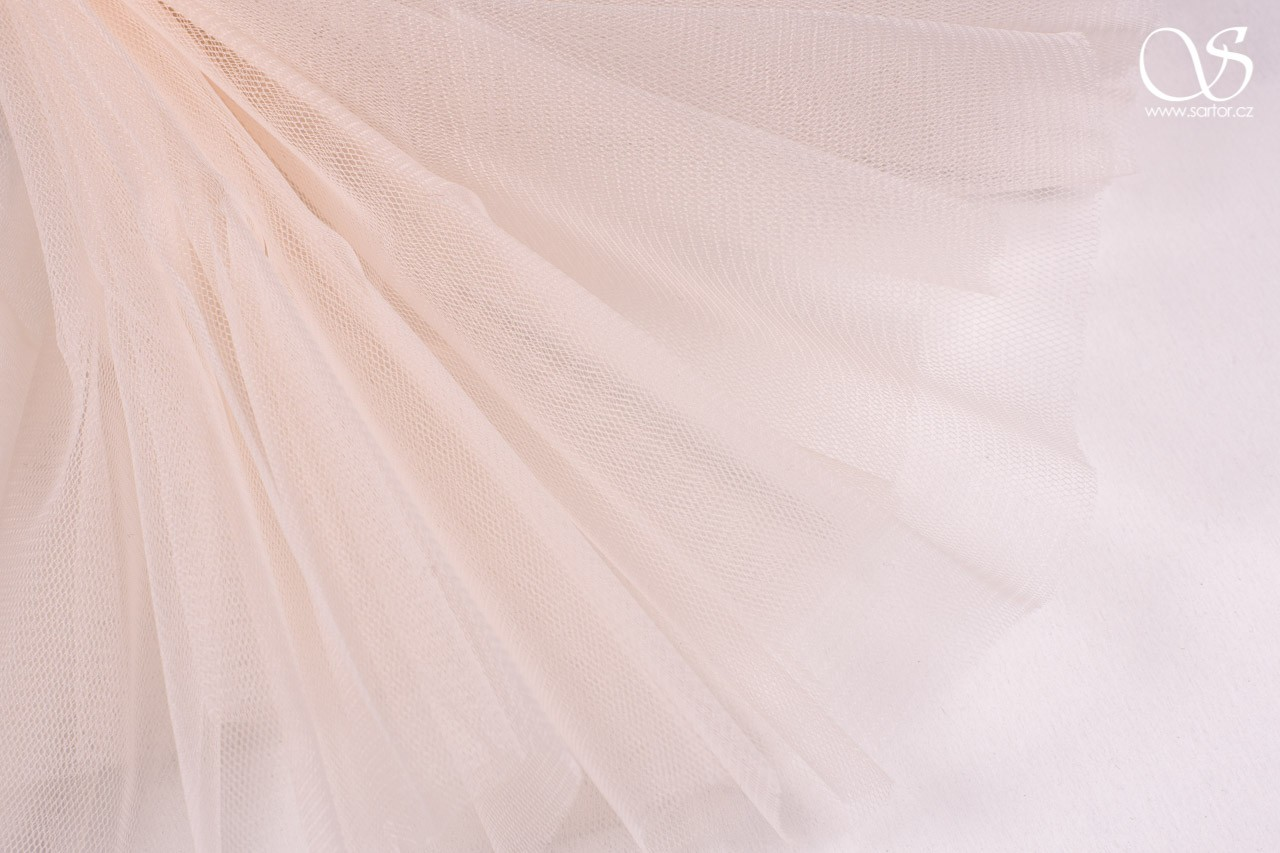 Veil Tulle 300 cm, Light Salmon