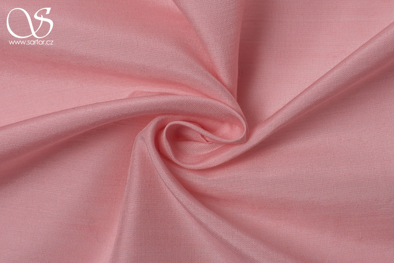 Plain Silk with Modal, Light Pink DEFECTS