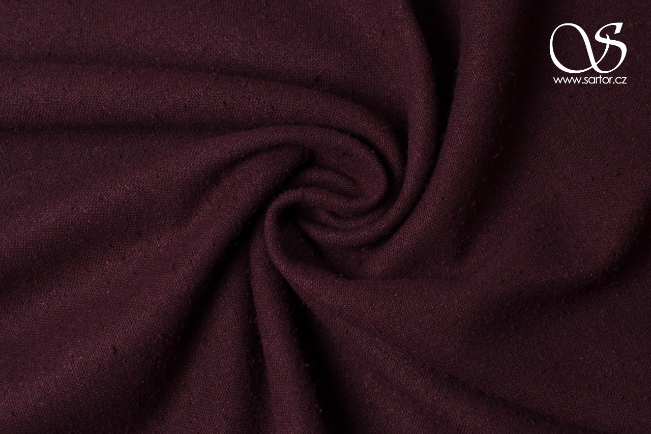 Noil, Dark Wine Red