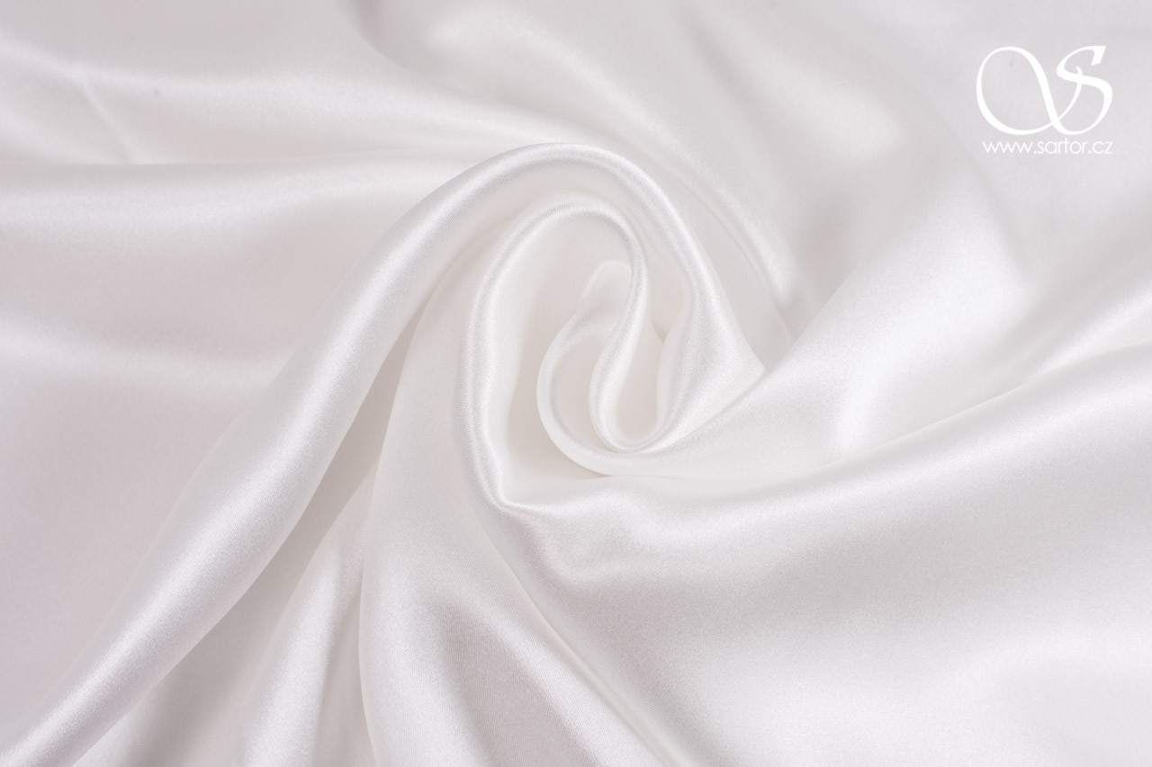 Satin, Pure White