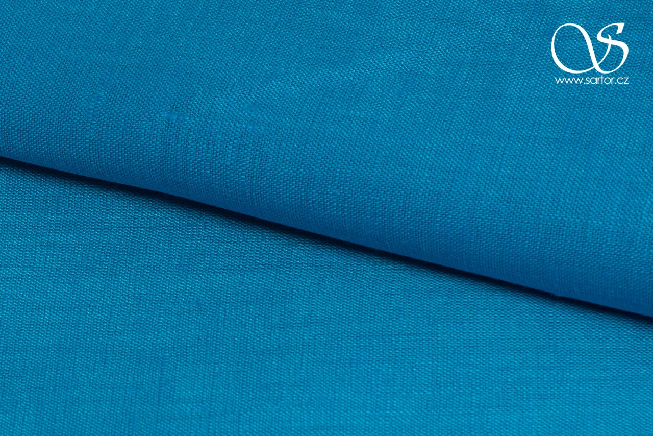 Very Fine Linen, Turquoise