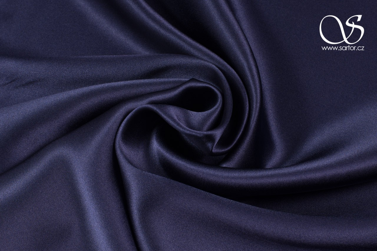 Satin, Paris Blue