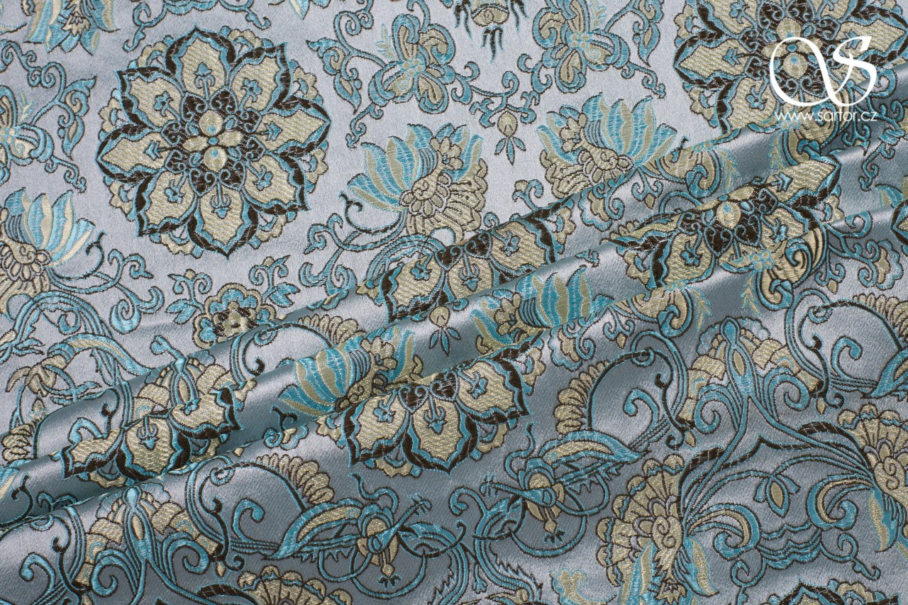 Brocade Chrysanthemum, Aqua