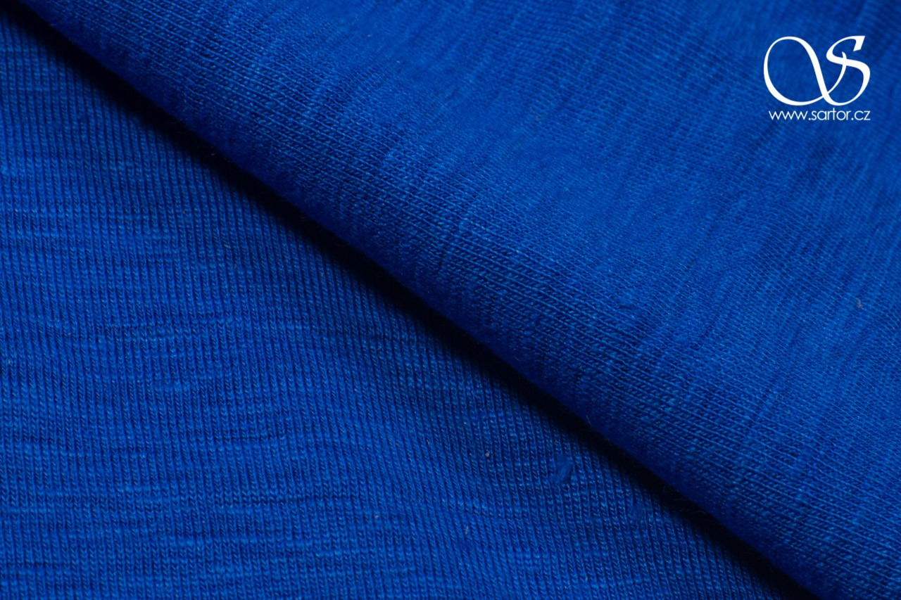 Linen Jersey, Royal Blue DEFECTS