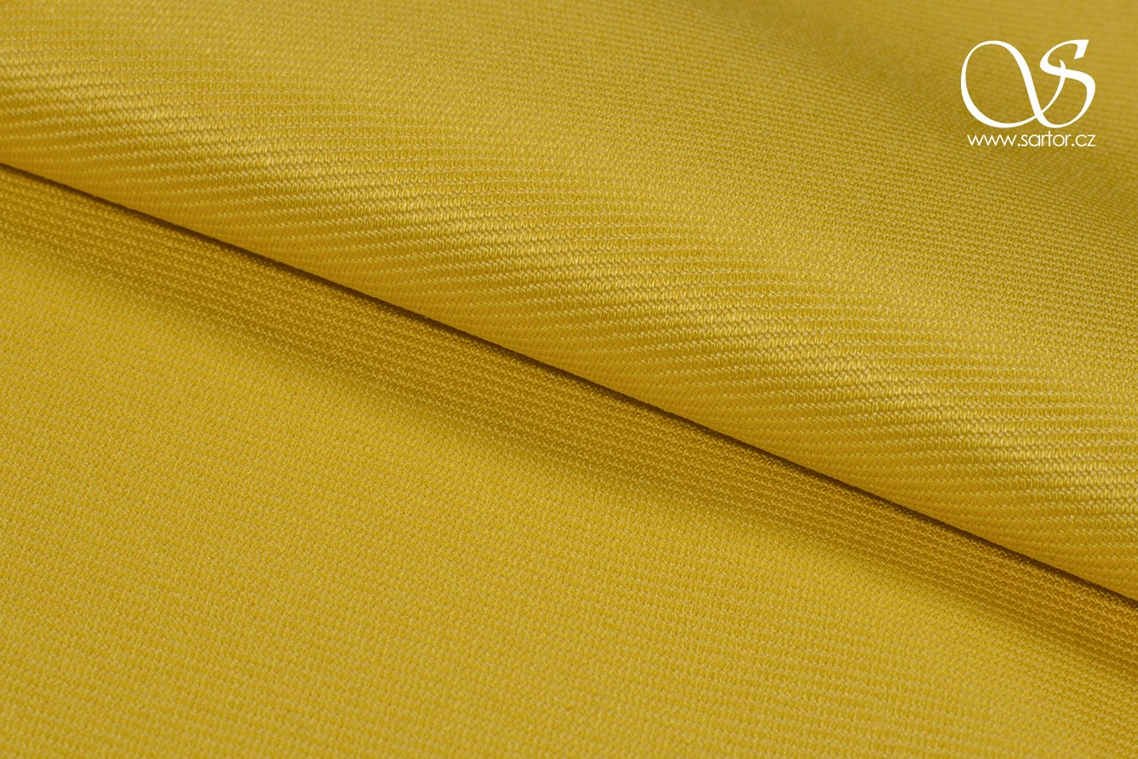 Heavy Twill Linen, Yellow