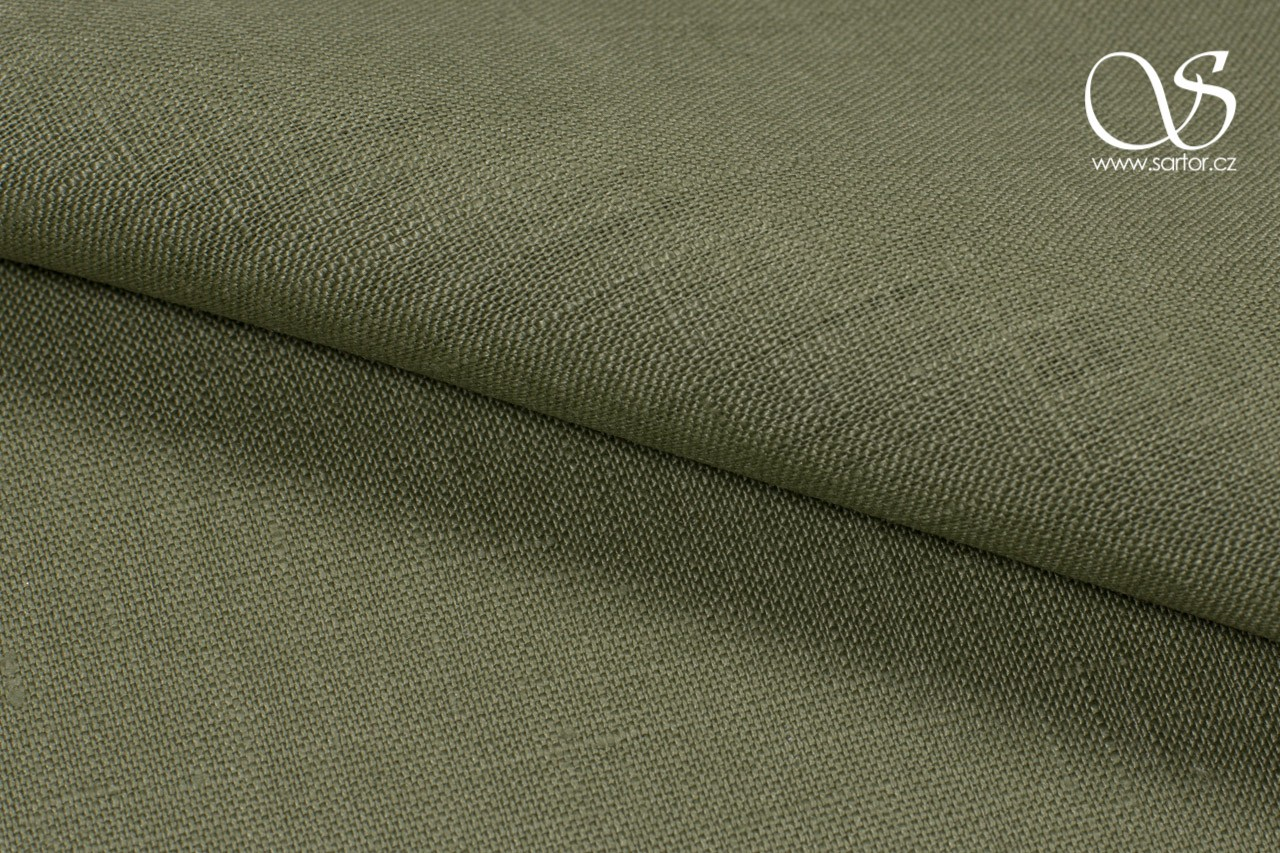 Linen, Light Olive Green