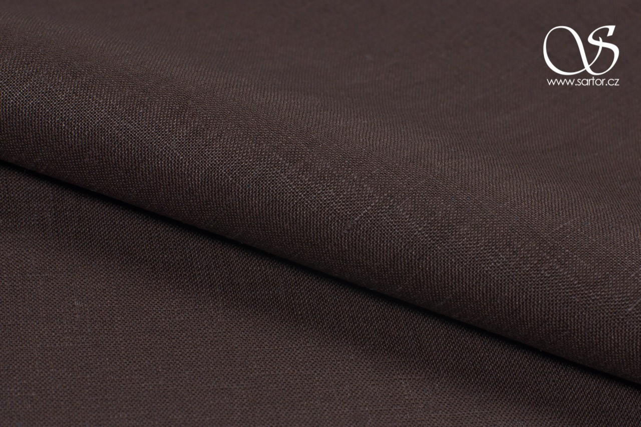 Linen, Dark Brown