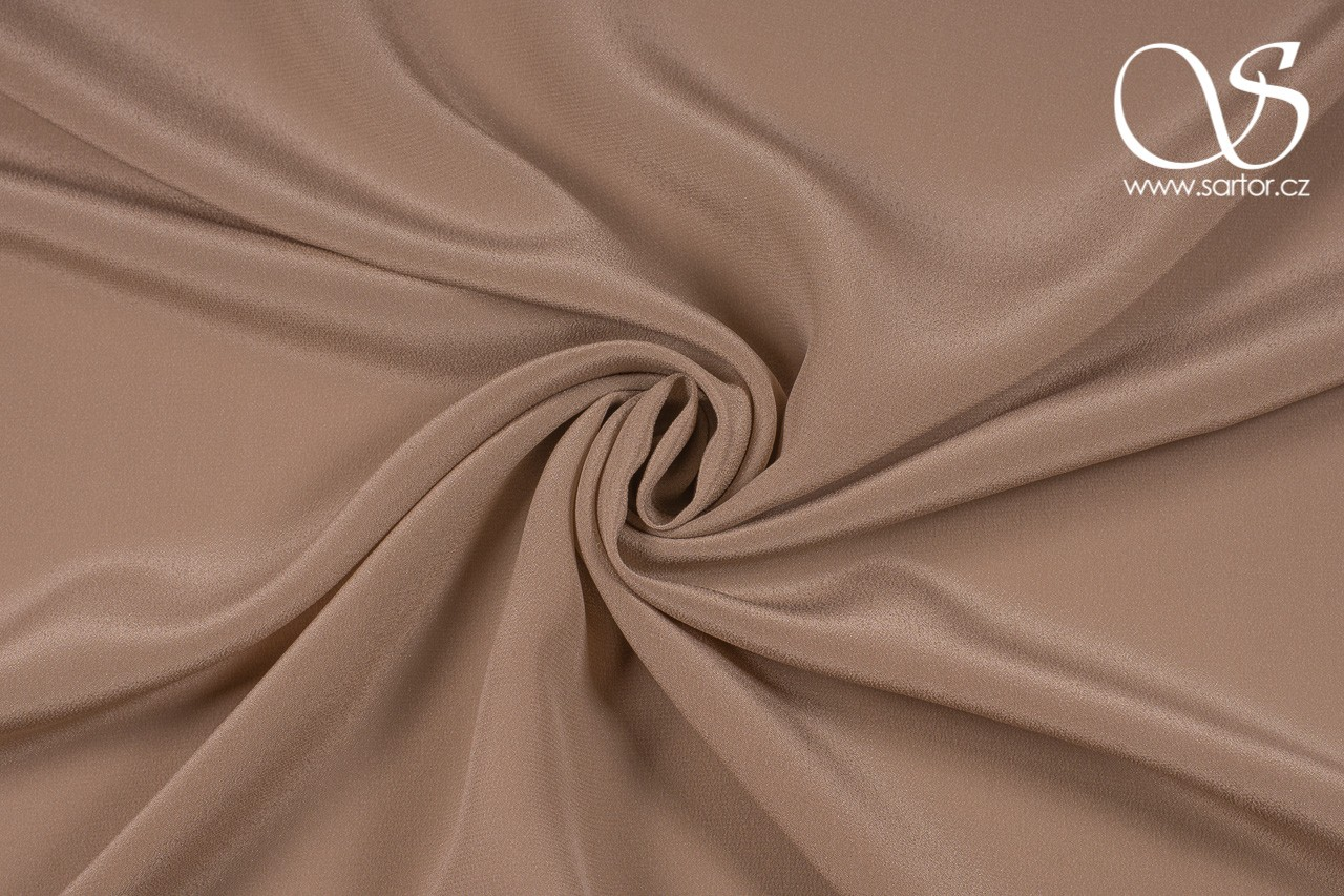 Crepe de Chine, Grey-beige