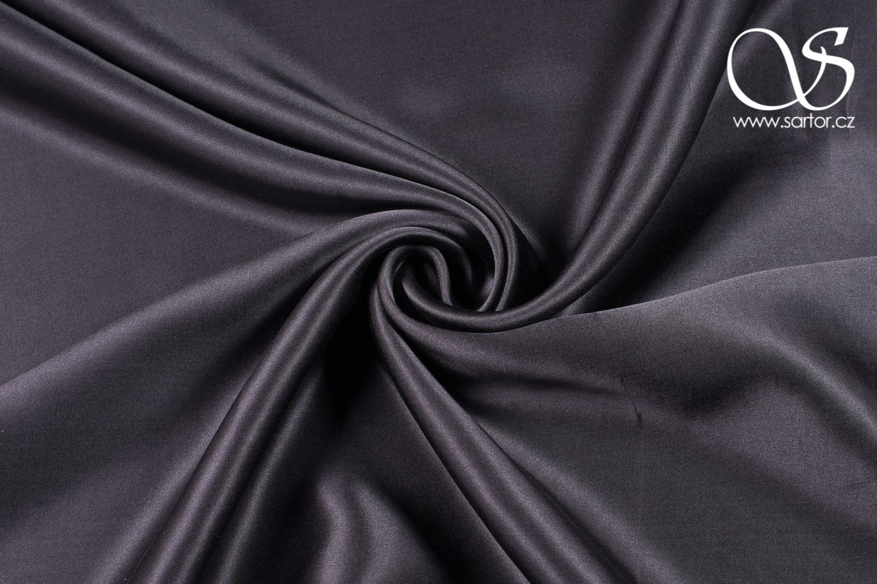 Satin, Dark Grey