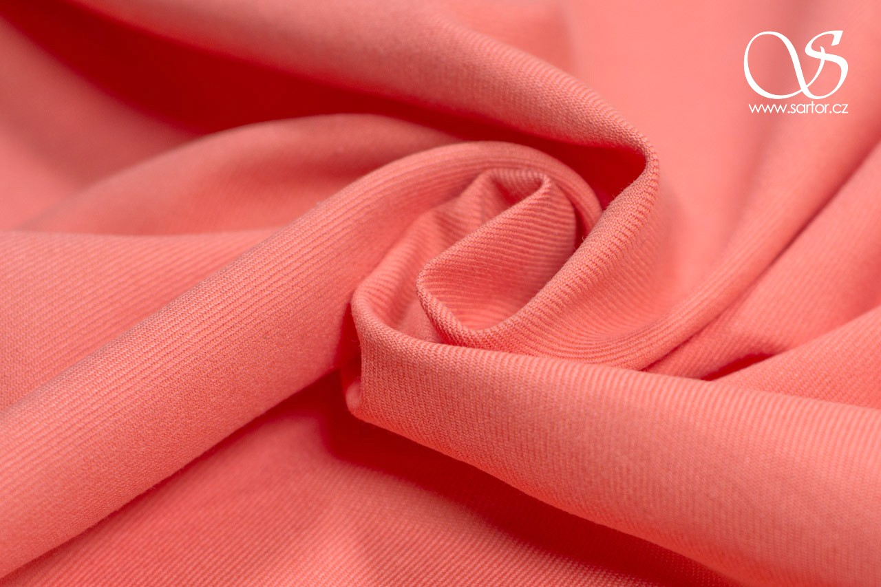 Schappe Silk with Cotton, Salmon