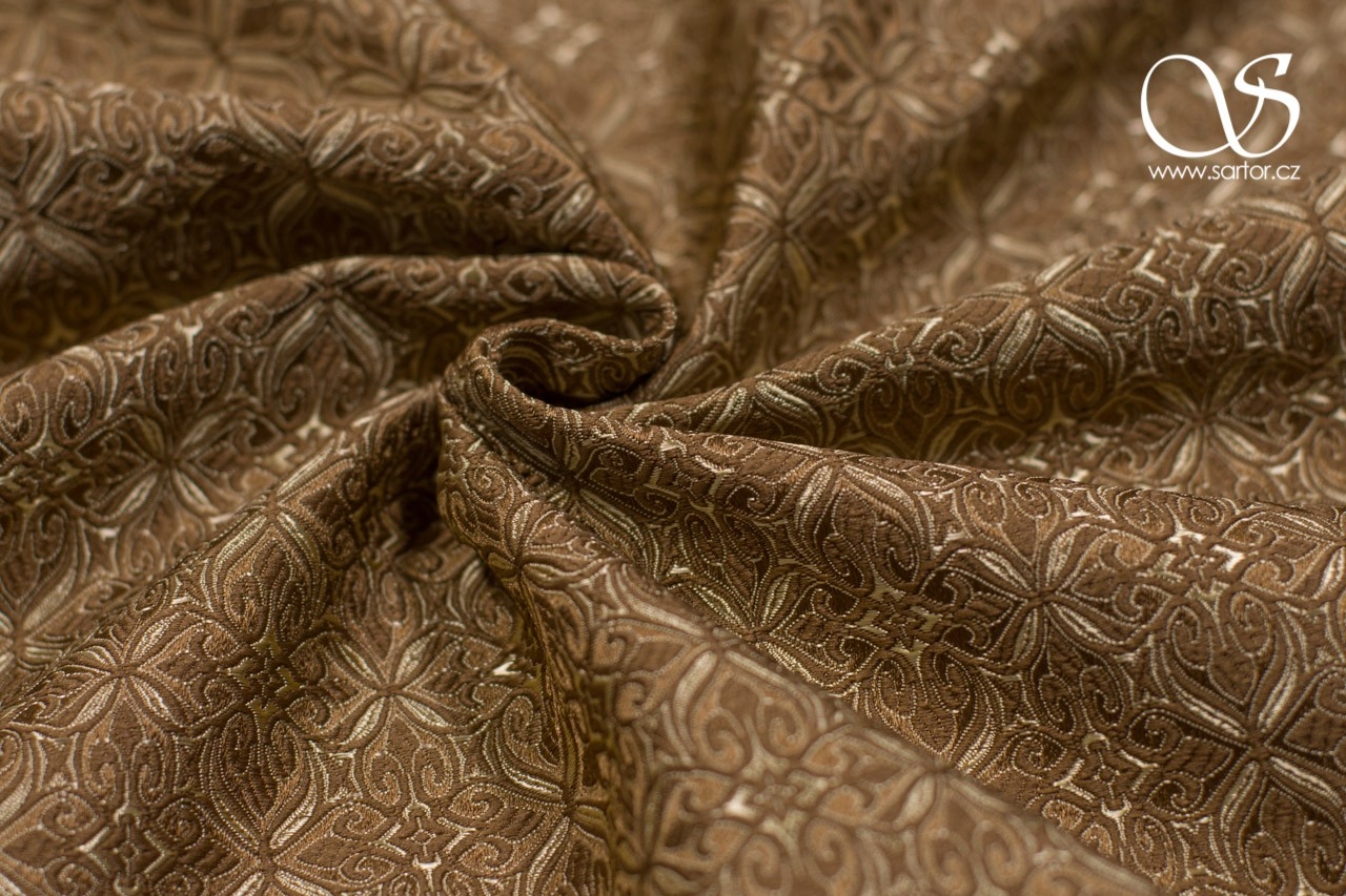 Noble Brocade, Bronze and Gold