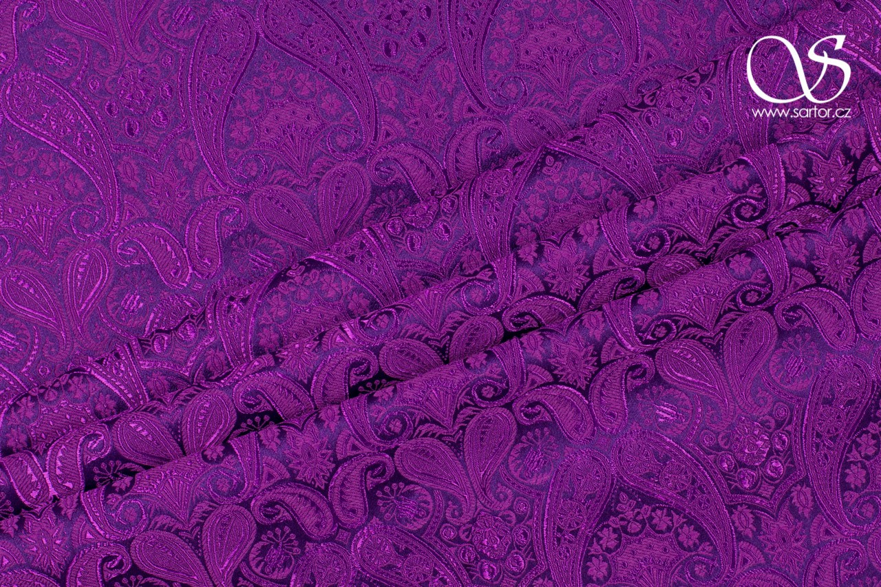 Brocade of the Duke, Violet