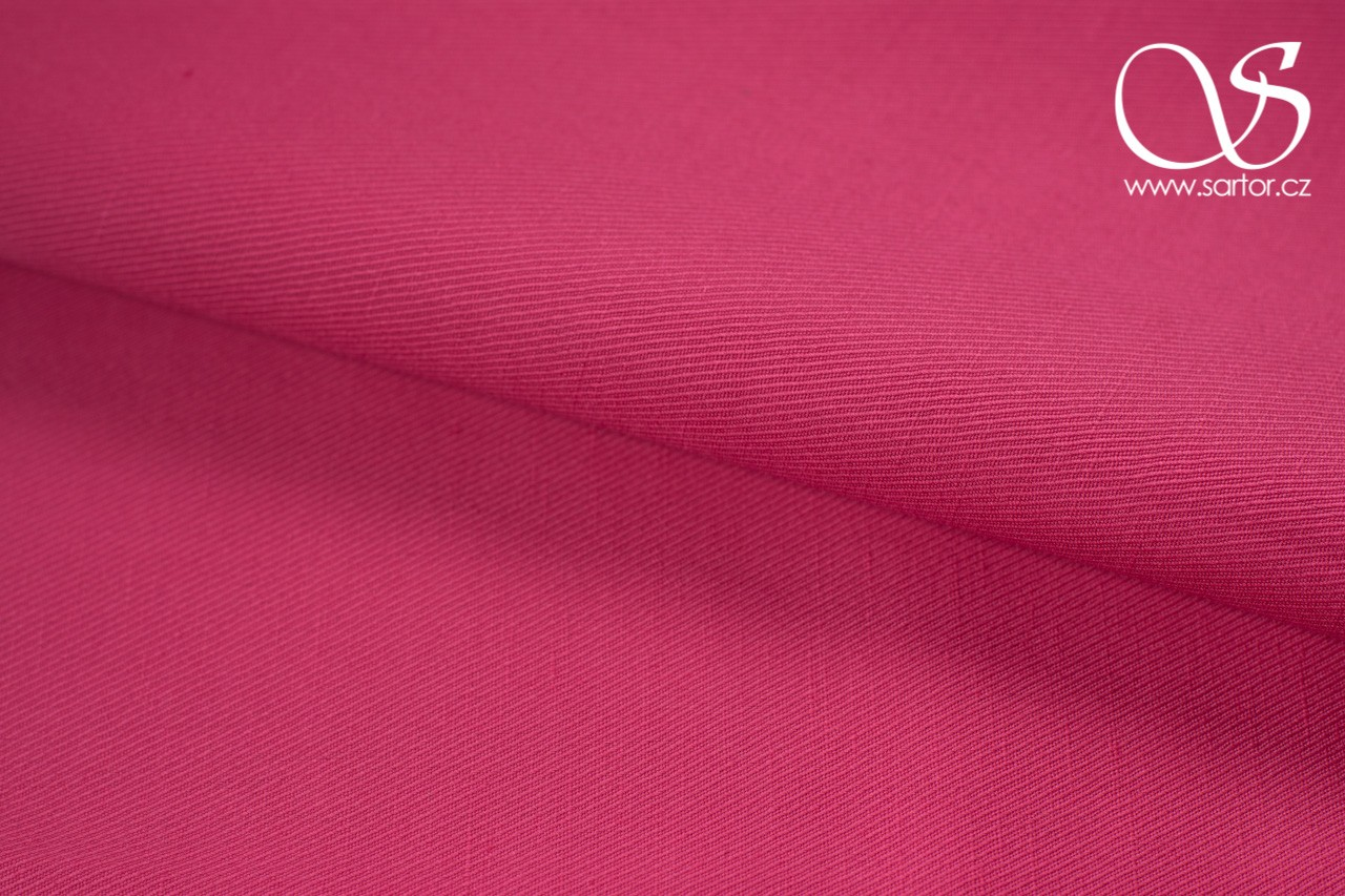 Twill Linen with Cotton, Pink