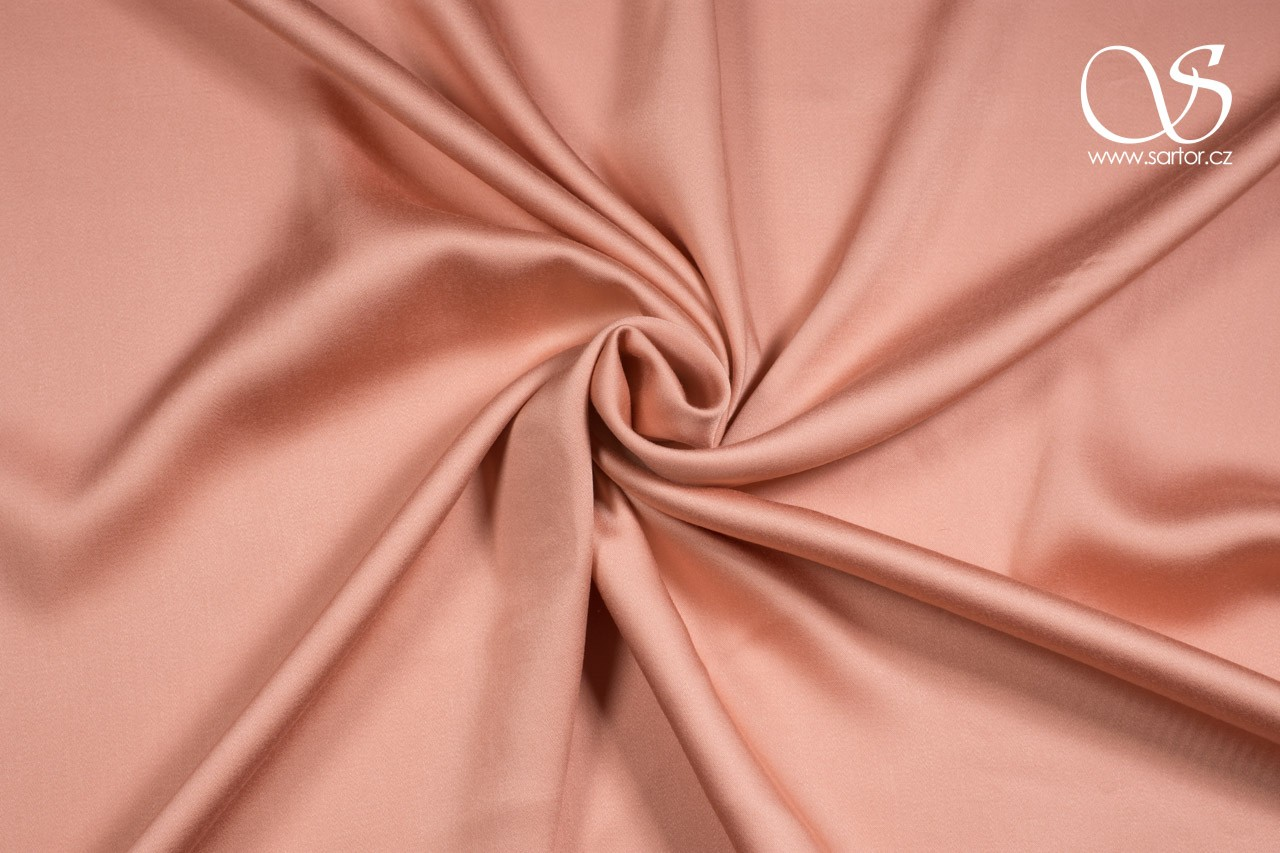 Tencel Satin, Peach