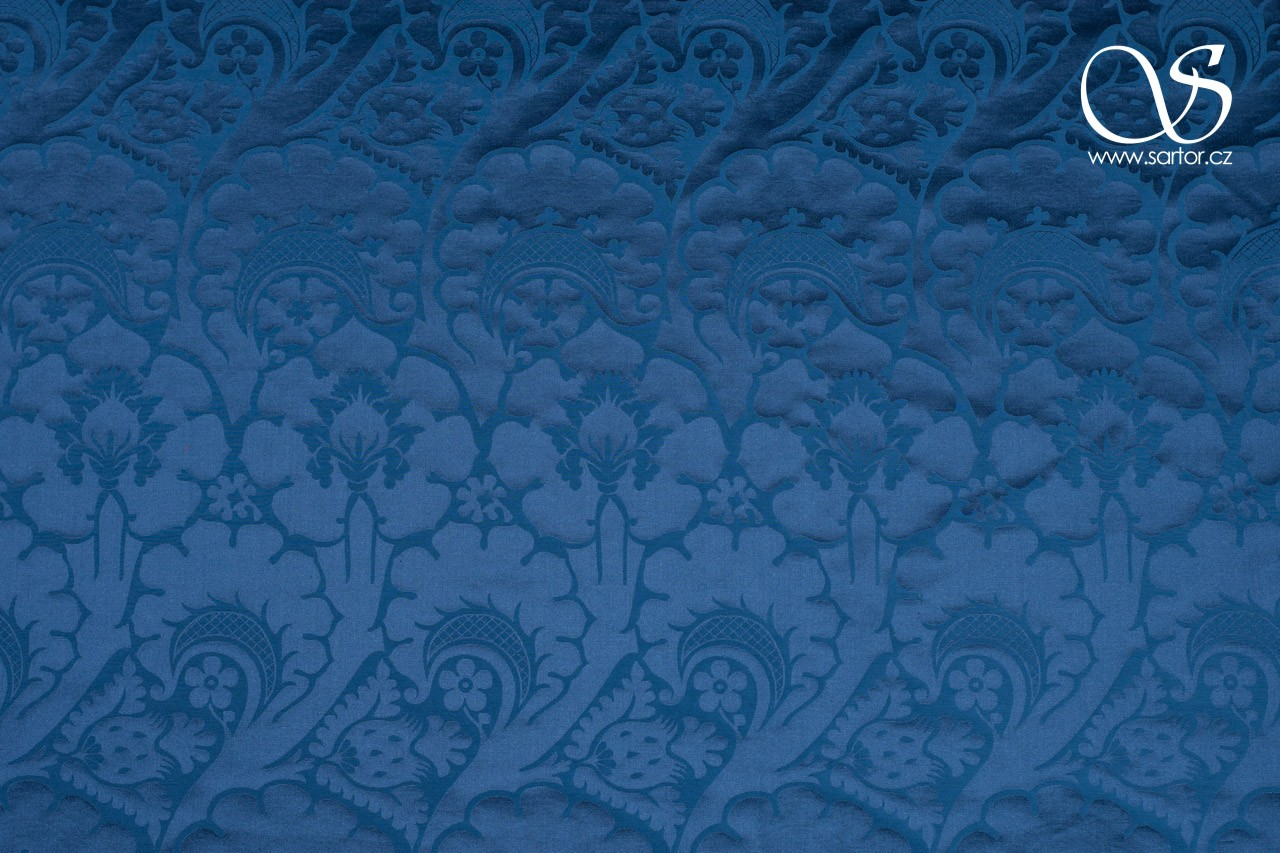 Italian Rose and Thistle Damask