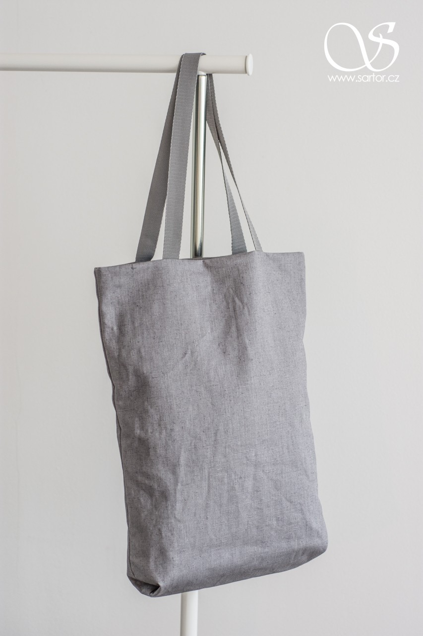 Waterproof linen, grey